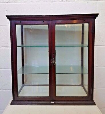 Victorian Display Cabinet 1870 O.C HAWKES LTD FREE MANCHESTER DELIVERY