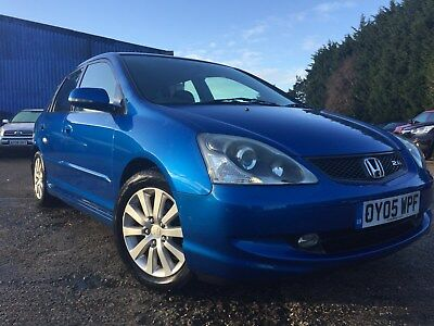 Honda Civic Type S. 2.0L ,2005, 5 door,FSH,Nice Car!(1P Start No Reserve)