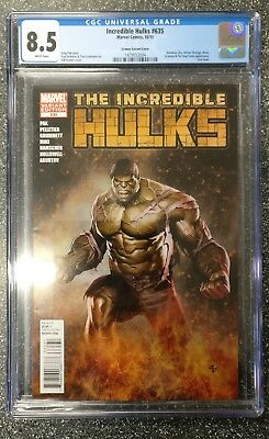 Incredible Hulks #635 Granov Variant CGC 8.5 HTF