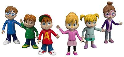 Fisher-Price Alvin and the Chipmunks Were The Chipmunks Collectible Figures