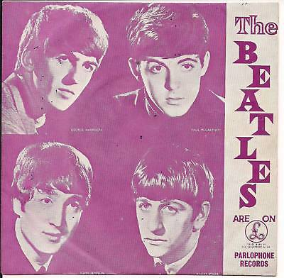 """The Beatles Love Me Do Greek original 7"""" single MULTICOLORED Picture Sleeve PS"""