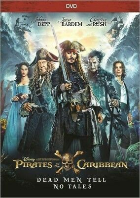 Pirates of the Caribbean: Dead Men Tell No Tales (DVD) FREE SHIPPING TO US...