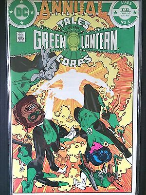 Tales of the Green Lantern Corps Annual   (DC 1985)   #1       VF