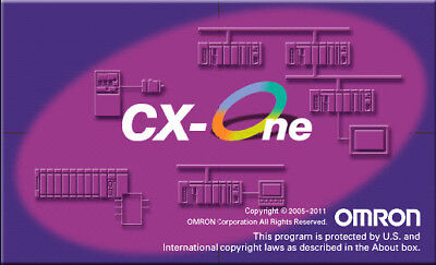 Industrial Controls PLC software OMRON CX-One v1.12 Integrated Tool Package