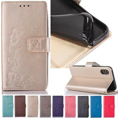 For Various Luxury PU Leather Magnetic Flip Stand Card Slot Wallet Case Cover