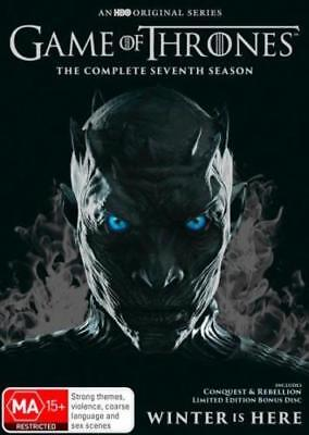 Game of Thrones Season 7 BRAND NEW SEALED R4 DVD GENUINE ,,,,IN STOCK NOW