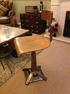 Singer Original Machinist Chair / Stool