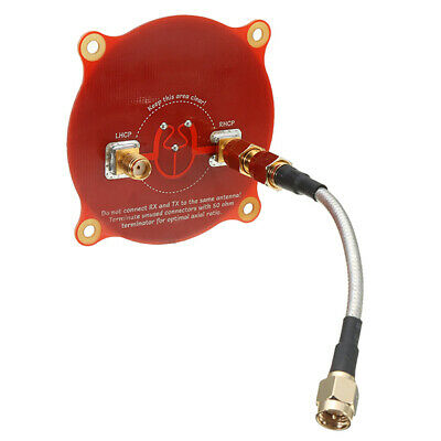 [NEW] 1Color Only Realacc Triple Feed Patch-1 5.8GHz 9.4dBi Directional Circular