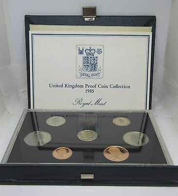 United Kingdom Proof Coin Collection 1985 Royal Mint