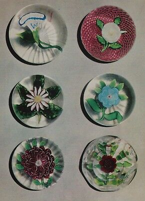 IMPORTANT GUGGENHEIM COLLECTION FRENCH GLASS PAPERWEIGHTS pt 1 AUCTION CATALOGUE
