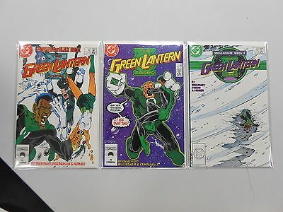 The Green Lantern Corps comic lot of 3! #'s 218-220! VF8.5+ to NM range! DC!