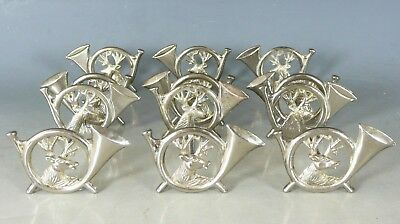Set Of Six Antique Knife Rests Stags E20Thc