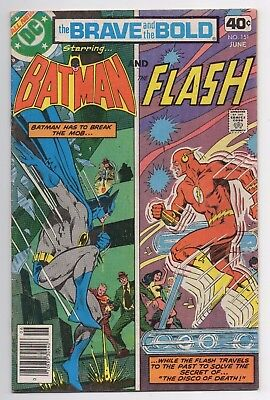 DC Comics The Brave and the Bold Presents Batman and The Flash #151 Bronze Age