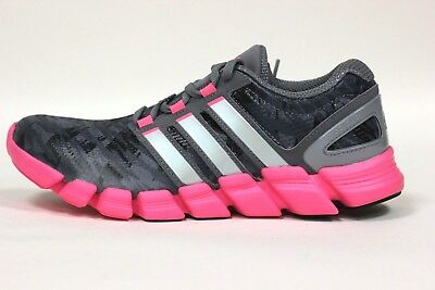 13faaf924f99fc Adidas Women s Adipure Crazy Quick Shoes NEW AUTHENTIC Grey Silver Pink  M22588