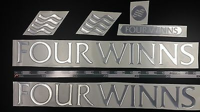 "FOUR WINNS boat Emblem 22"" + FREE FAST delivery DHL express"
