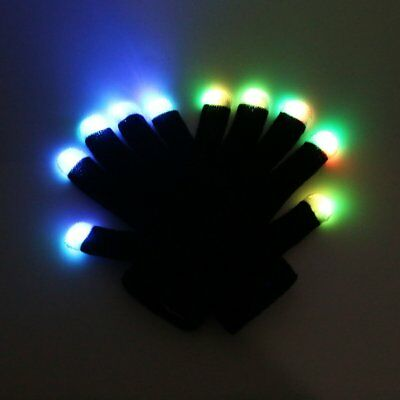 cool toys for 8 year old boys LED Finger Light Gloves Colorful Flashing High Qua