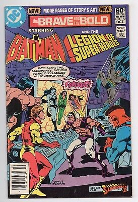 DC Comics The Brave and the Bold Starring Batman & Legion of Super-Heroes #179