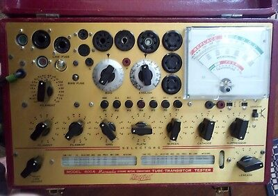 Hickok 800A Mutual Conductance Tube Tester - Recapped - Calibrated