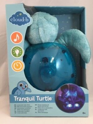 Cloud B Tranquil Turtle, Projects an Underwater Light Effect, New, FREE SHIPPING