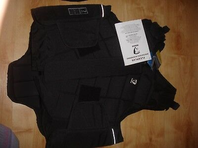 """HORKA Flex-Plus Adults Body Protector size med 99 to 106cms chest 38 / 40"""""""