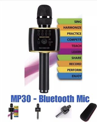 MAGICSING Mobile Karaoke Microphone (CONNECTS TO YOUR SMARTPHONE!)
