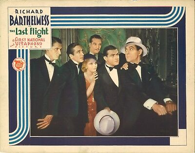 THE LAST FLIGHT (1931) WWI Vets Roam Paris Richard Barthelmess & Helen Chandler