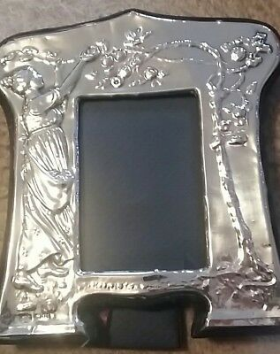 Keyford Art Nouveau Style Silver Photo Frame Hallmarked London 1982