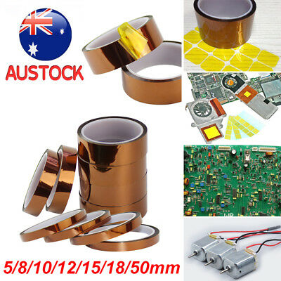 Kapton Tapes High Temperature Heat Resistant Polyimide for Reprint 3D Printer