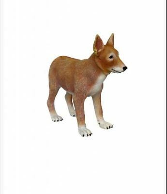Coyote Puppy Dog Animal Theme Decor Display Prop