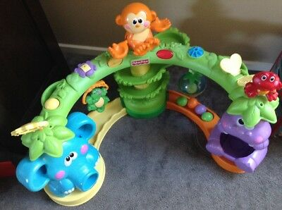 Fisher Price Go Baby Go Cruise and Crawl Musical Jungle
