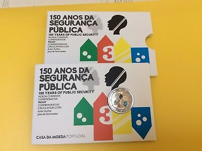 2 Euro Portugal Couleur 2017 Be Pp Proof