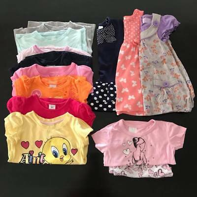 13x Preloved Guc Size 2 Bulk Bundle girls summer PJ set / Dresses / Tshirts