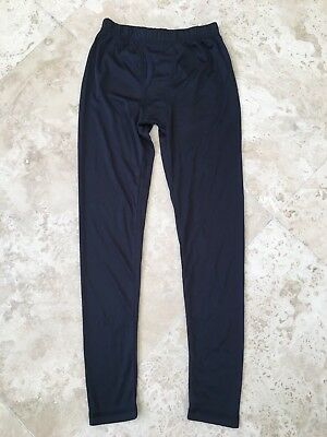 NEW Climatesmart Comfortech Poly Boys Base Layer Pants Navy Size M