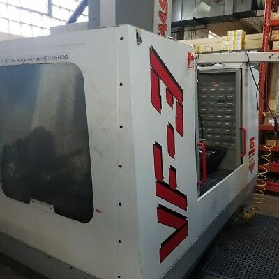 Used Haas VF-3 CNC Vertical Machining Center Mill BT40 40x20 VMC Gearbox 1996