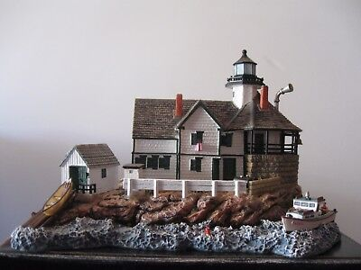 """Harbour Lights #545 """"OLD CUCKOLDS"""" Maine - New, in excellent condition with COA"""