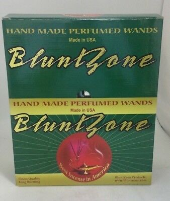 BluntZone Hand Dipped Perfume Wands Incense Sticks Display of 72 Packs