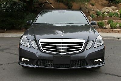 2010 Mercedes-Benz E-Class 4dr Sdn E 550 Sport 2010 Mercedes E550 sedan