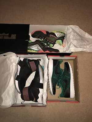 lot of 3 mens nike shoes size 9-10
