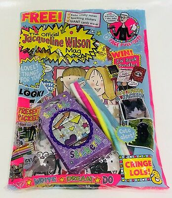 The Official Jacqueline Wilson Mag Magazine #130 - AMAZING FREE GIFTS! (NEW)