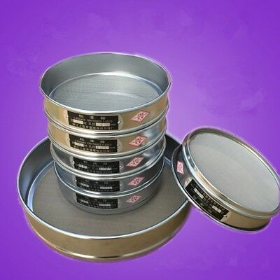 10-200 Mesh 2-0.074mm Aperture Stainless Steel 10-20cm Lab Standard Test Sieve