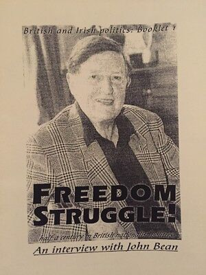 Freedom Struggle: John Bean British National Party BNP National Front NF