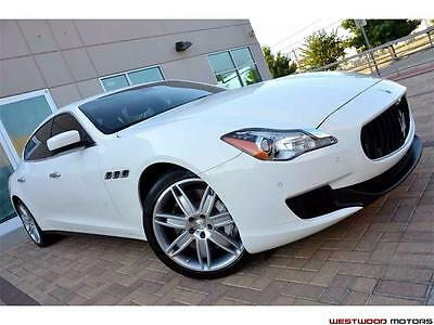 2014 Maserati Quattroporte GT S Sedan Sport Pristine Condition 7k Miles Only 2014 Maserati Quattroporte Sport GT S Sedan Automatic 4-Door Sedan