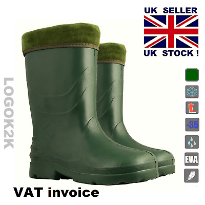 Ladies Thermal -35 C LIGHTWEIGHT EVA Wellies Wellington Rain Boots Women's YOUTH