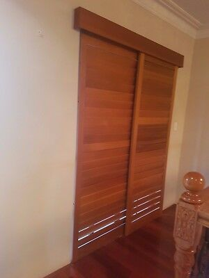 Timber Internal Plantation Shutter Excellent Condition. No scratches no fading.