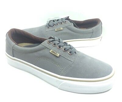 2a49f9655c NEW Vans Mens Rowley Solos Skate Shoes Sneakers Medium Gray Brown Size 6.5