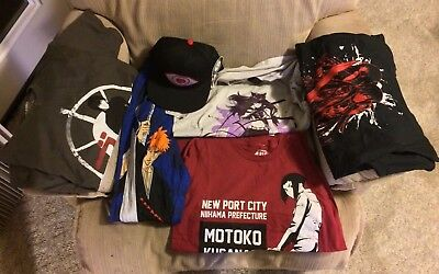 Anime Clothes Lot: RWBY, Bleach, Noragami, Ghost in the Shell Arise, BLAME