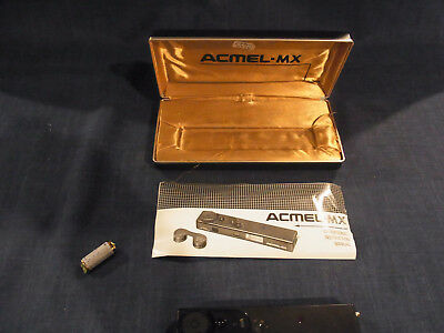 Vintage Acmel MX super Miniature Spy Camera with Case-made in Japan
