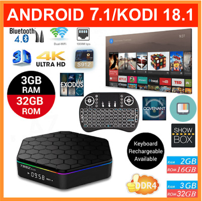 2018 JULY Latest Version Android Smart TV Box T95z Plus HD 4K WiFi OctaCore 3+32