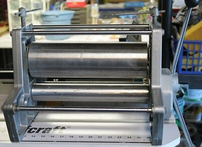 """Dick Blick Etching Press 13"""" Rollers No Bed Plate Local Pick Up Chicago Area"""