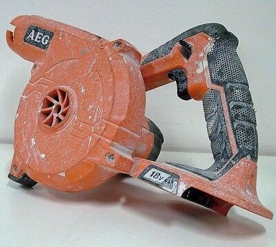 AEG 18V Li-ion Cordless 3 Speed Compact Blower GM18E - TOOL ONLY - Bids From $1